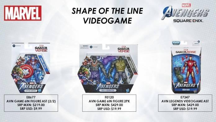 Conoce las figuras del Gameverse del videojuego Marvel's Avengers 4