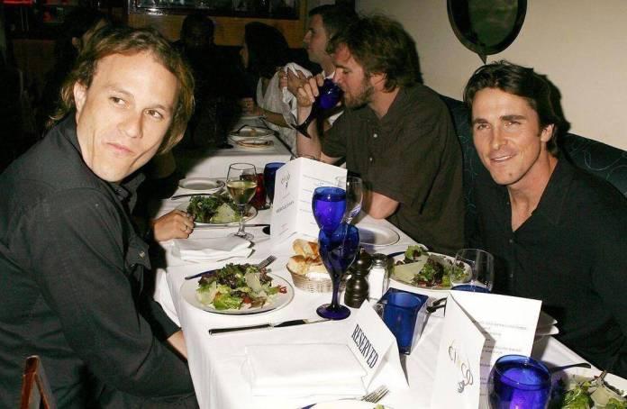 Heath Ledger & Christian Bale
