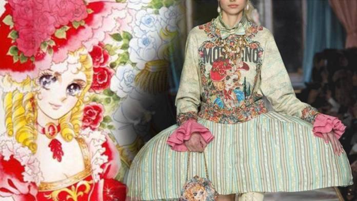 Acusan a Moschino de inspiratear línea de ropa en Rose of Versailles 5