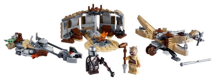 LEGO Star Wars: The Mandalorian, Trouble on Tatooine