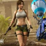 Fortnite, Lara Croft, Tomb Raider