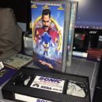 Sonic la película en VHS