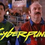 cyberpunk 2077 X Mario Bros
