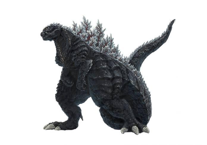 Nuevo diseño de Godzilla para su participación en el anime Godzilla Singular Point.
