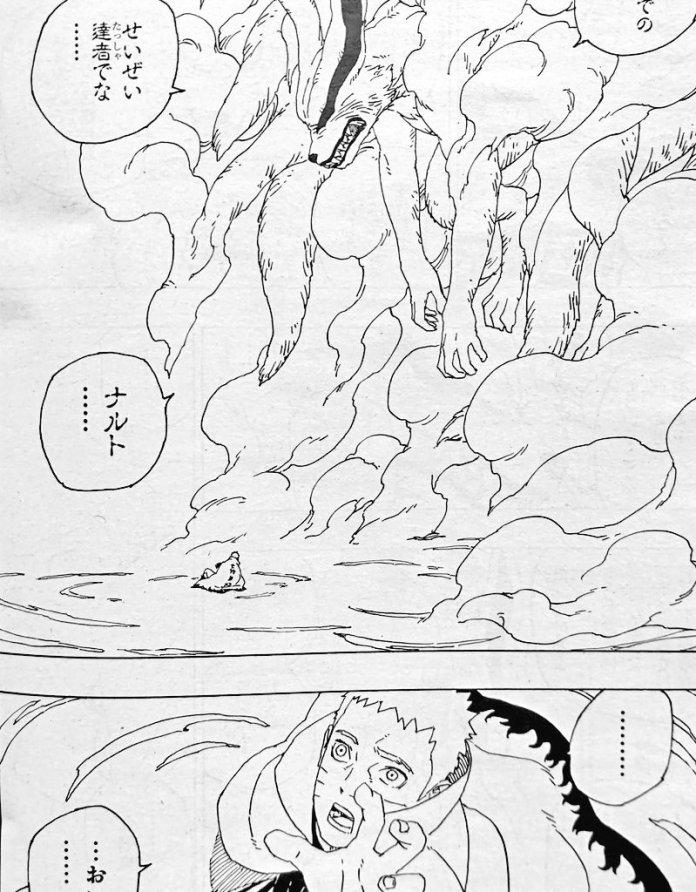 Naruto muerte de Kurama
