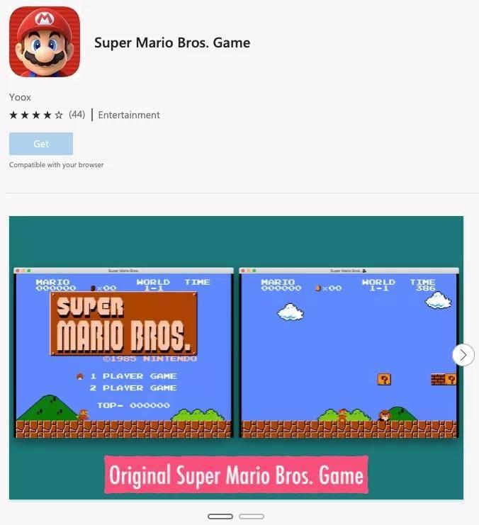 Super Mario Bros Edge