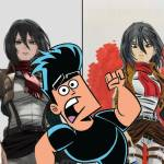 butch hartman, Attack on Titan, Shingeki no Kiojin