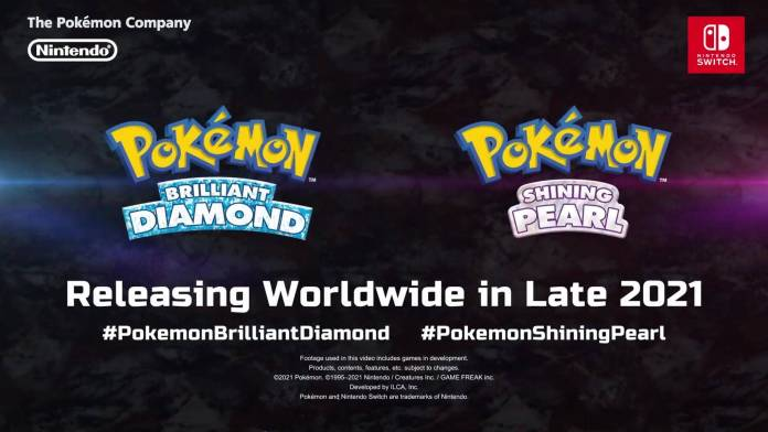 Pokemon Diamante y perla remakes