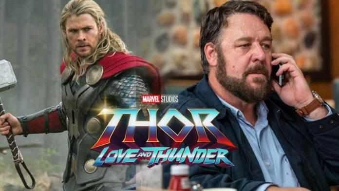 Russell Crowe Thor Love and Thunder