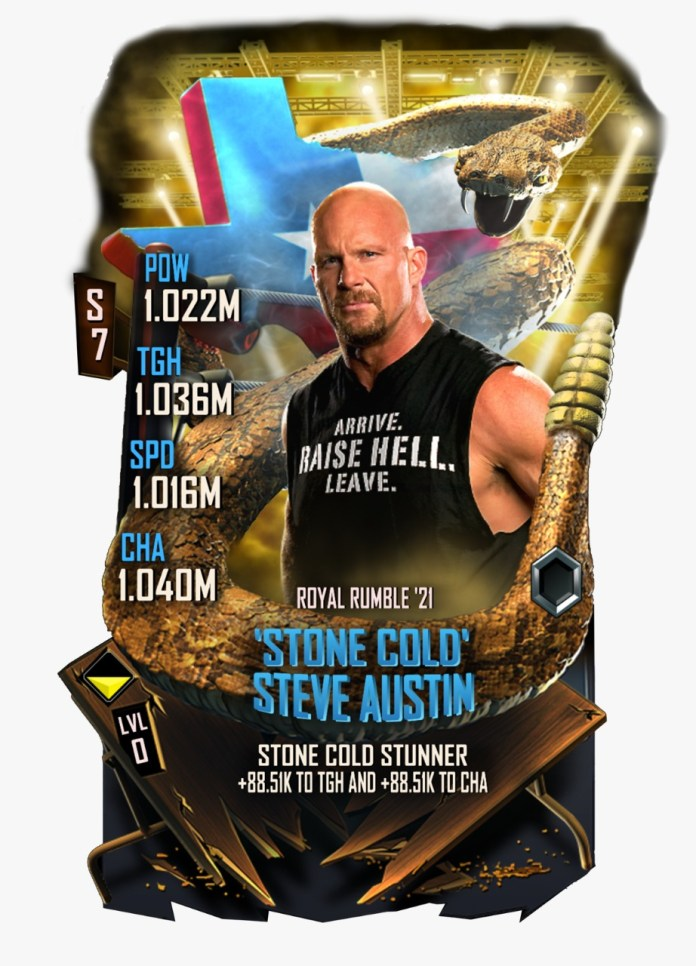 Stone Cold WWE Supercard