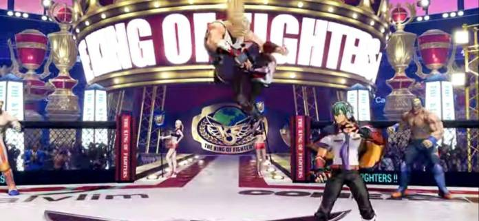 Andy Bogard se presenta en The King of Fighters XV 8
