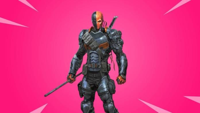 Fortnite: Deadstroke se unirá al Battle Royale por colaboracion con Batman