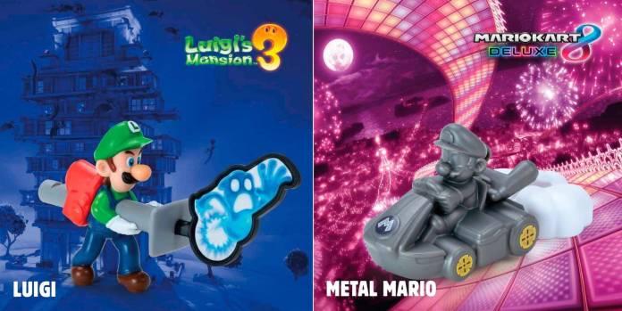 Burger King anuncia colección especial de Nintendo 2