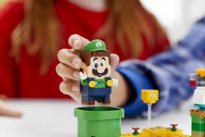 Luigi se unirá al set de LEGO Super Mario 3