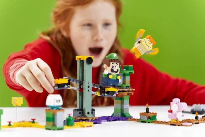 Luigi se unirá al set de LEGO Super Mario 5