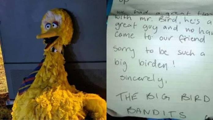 Big Bird Bandits, Sesame Street, Plaza Sesamo, Abelardo (4)