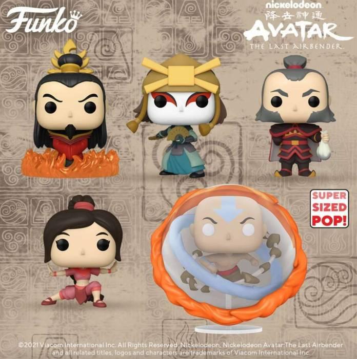 Avatar La Leyenda de Aang: Nueva ola de Funko Pop viene en camino y trae figuras exclusivas 2