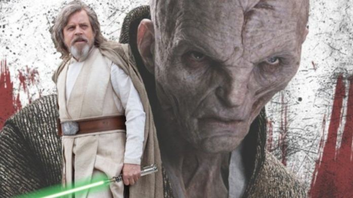 Snoke Luke Skywalker