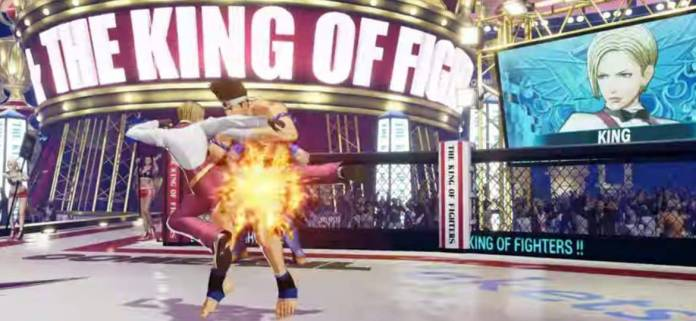 King también estará en The King of Fighters XV 10