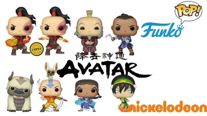 La Colección Funko Pop de Avatar la Leyenda de Aang esta de regreso y añade nuevas figuras exclusivas.