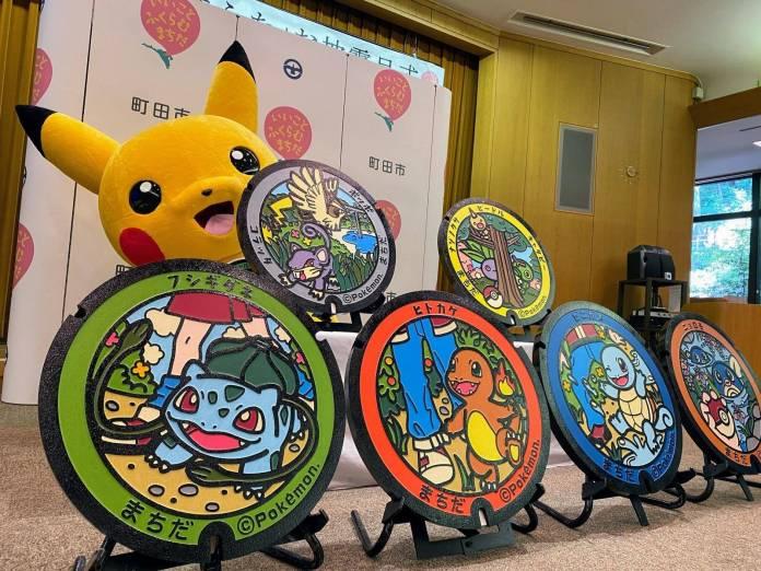 ¡Pokémon a la vista! Gyarados y Chansey hacen su aparición en las calles de Japón. 2