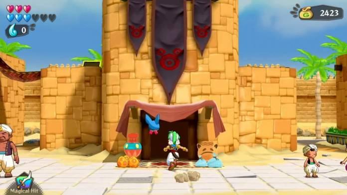 Review: Wonder Boy: Asha in Monster World (PlayStation 4) 2