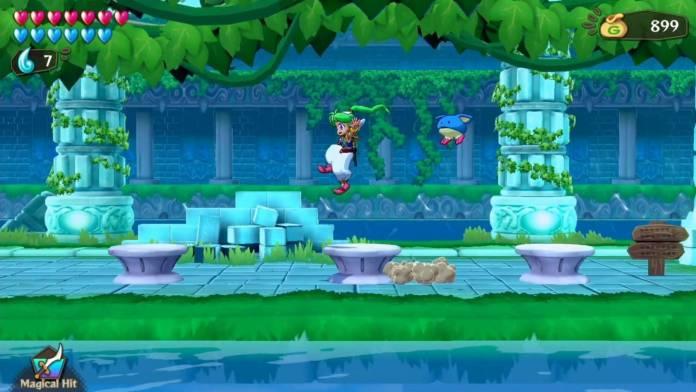 Review: Wonder Boy: Asha in Monster World (PlayStation 4) 3