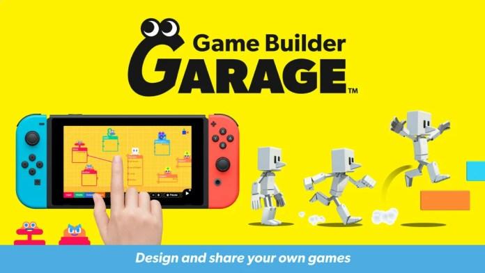 Nintendo te invita a crear y compartir tus juegos con Game Builder Garage!