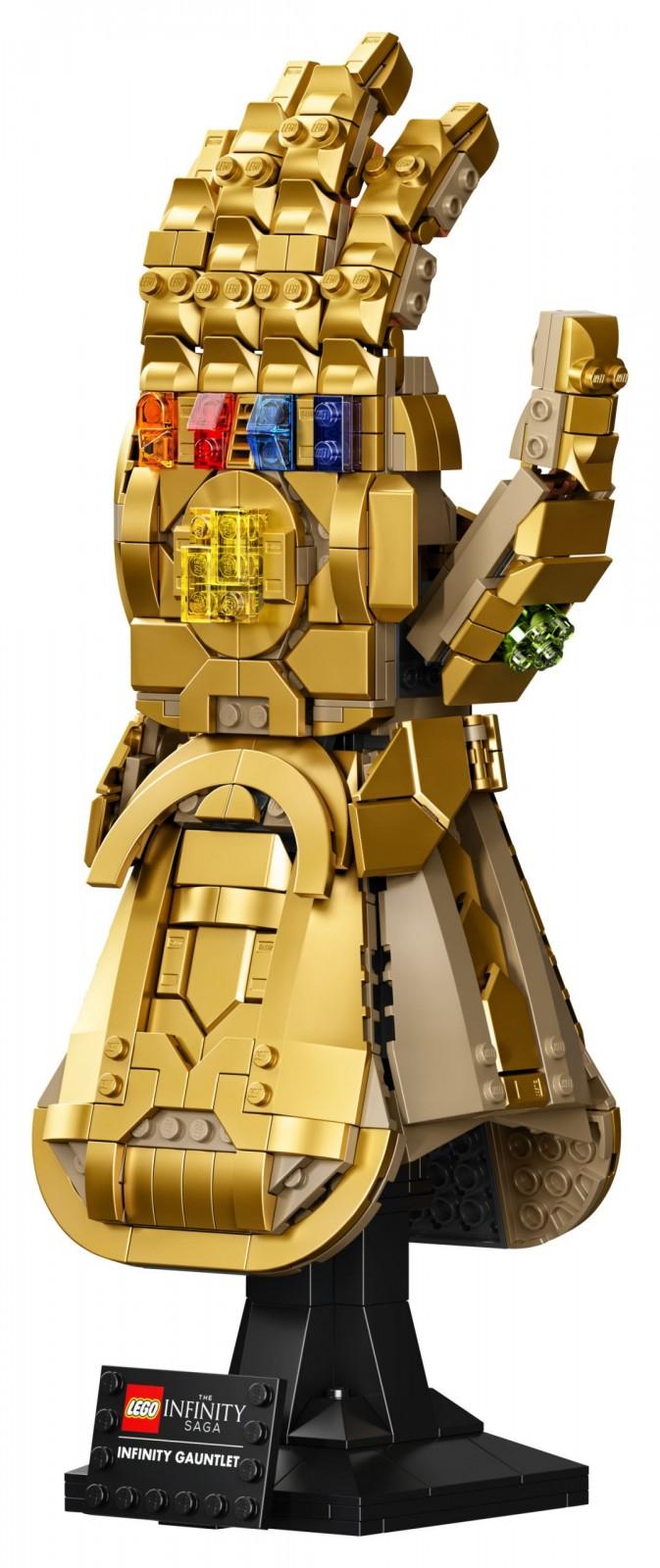 Lego anuncia set de construcción del Guantelete del Infinito de Los Vengadores 1