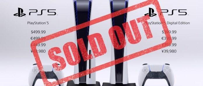 Sony no cree poder cumplir con la demanda de PlayStation 5 debido a la escasez de semiconductores.