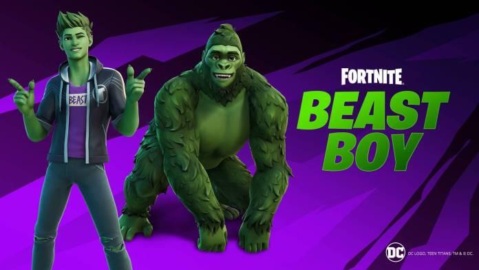Fortnite, Beast Boy
