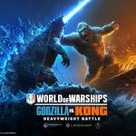godzilla vs kong, world of warships
