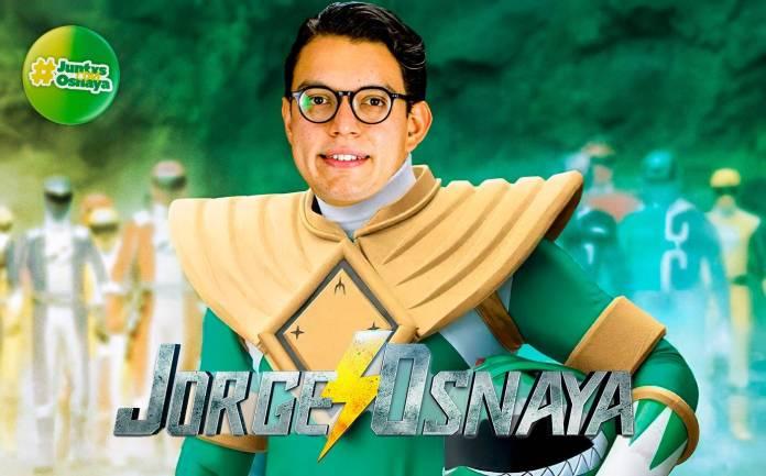Jorge Osnaya, Power Rangers