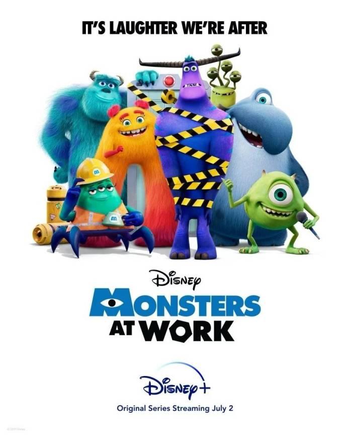 Monsters at Work: Presenta nuevo poster y tráiler para Disney+, llegará el 2 de Julio 1