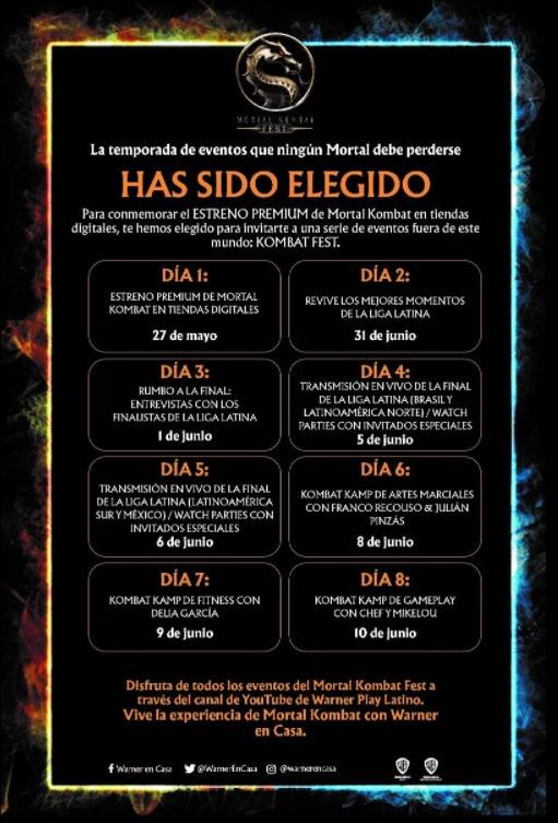 Mortal Kombat Fest: La película llega a tiendas digitales y más 1