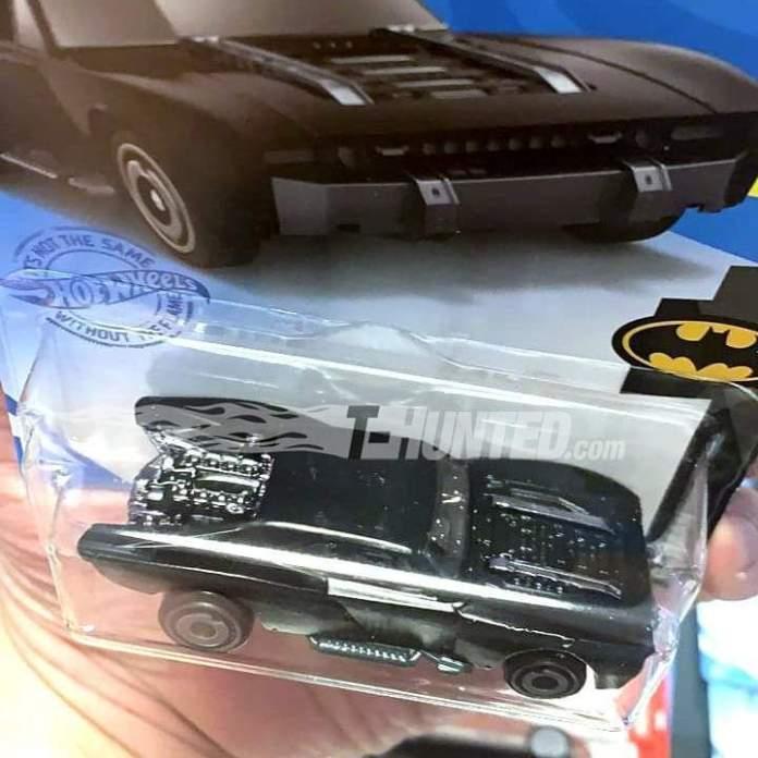 Batman: Revelan las fotos del blister de Hot Wheels para el Batmobile de The Batman 3