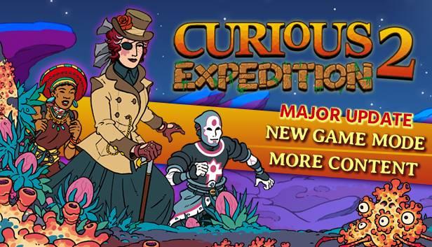 "Curious Expedition 2: La actualización ""The New Director"" llega a Steam 1"