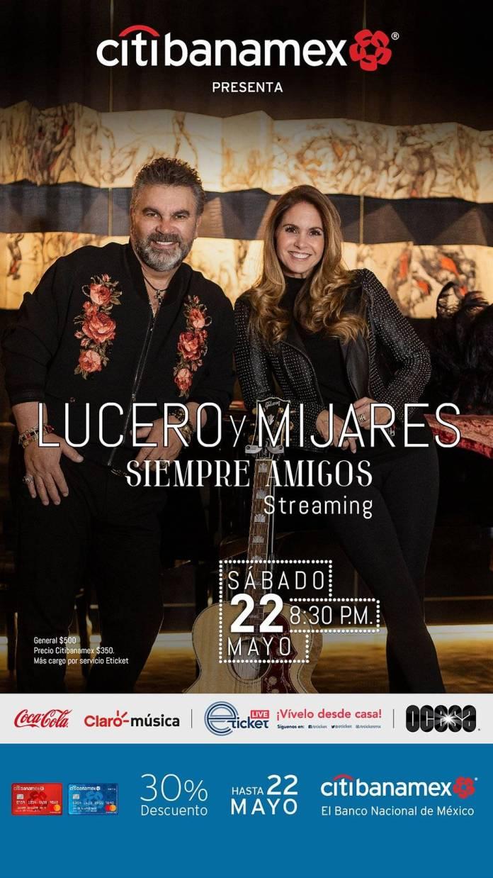 """Lucero y Mijares juntos otra vez... por que """"Siempre Amigos"""" 1"""