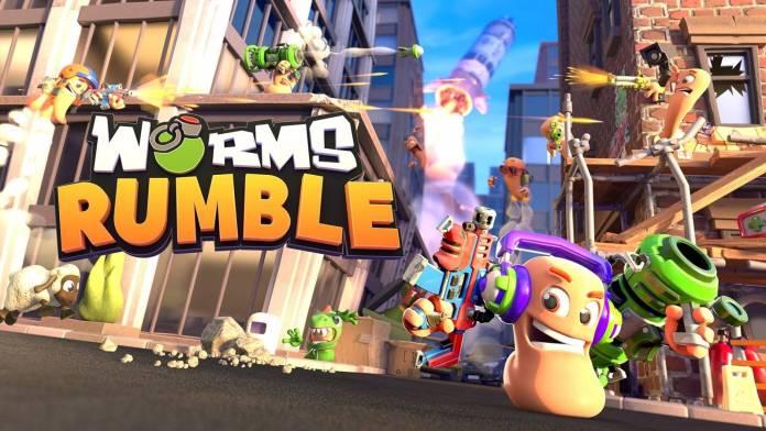 Worms Rumble ya se encuentra disponible en todas las plataformas y lo celebra con un nuevo tráiler.