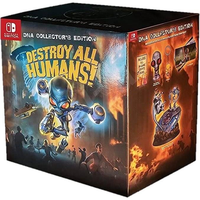 Destroy All Humans!: Crypto-137 llega a Nintendo Switch a cosechar ADN y derribar al Gobierno de EE.UU. 1