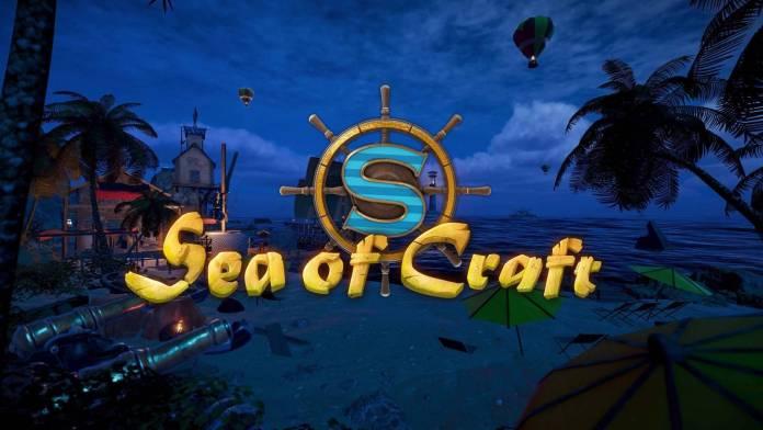 La Demo de Sea of Craft ya se encuentra disponible en Steam, ademas sus desarrolladores nos mostraran las mecánicas de crafteo en un directo.