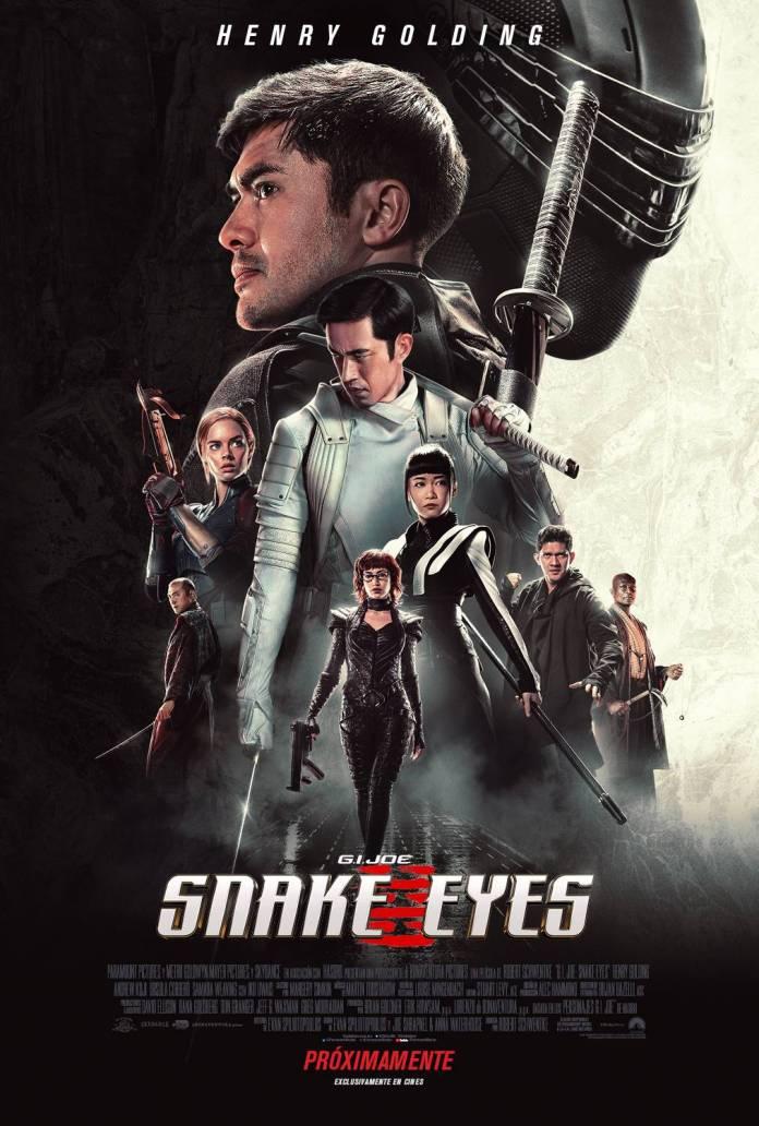 Snake Eyes: El Origen: Nuevo trailer del Reboot Cinematográfico de G.I. Joe en el cine 1