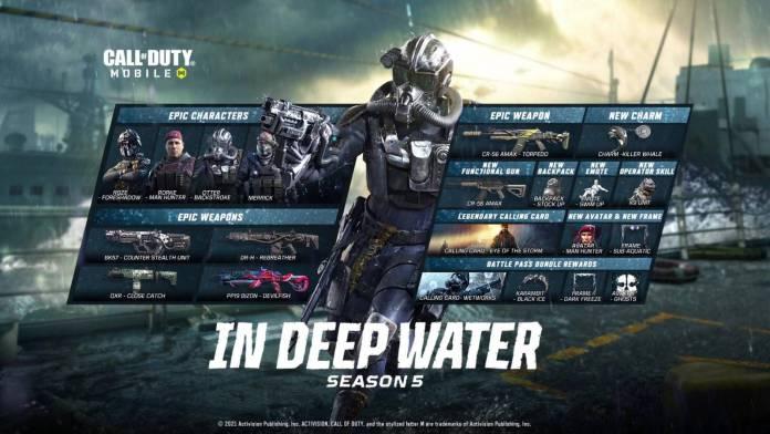 """Call of Duty Mobile: Conoce todo de su Temporada 5, """"In Deep Water"""" 3"""