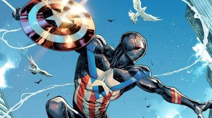 La portada del cómic #28 de Spider-Man Miles Morales nos deja ver un nuevo traje Inspirado en el Capitán América que usara nuestro amigable vecino.