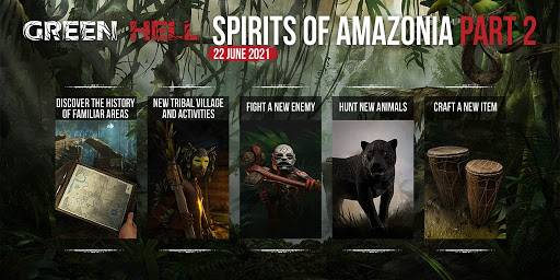Green Hell's Spirits of Amazonia Part 2' ya está disponible en Steam 1