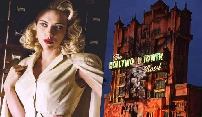 Disney, Tower of Terror, Scarlett Johansson