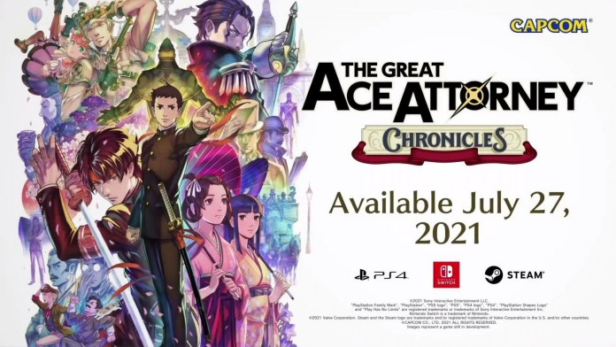 E3 2021: Capcom presenta The Great Ace Attorney: Chronicles 2
