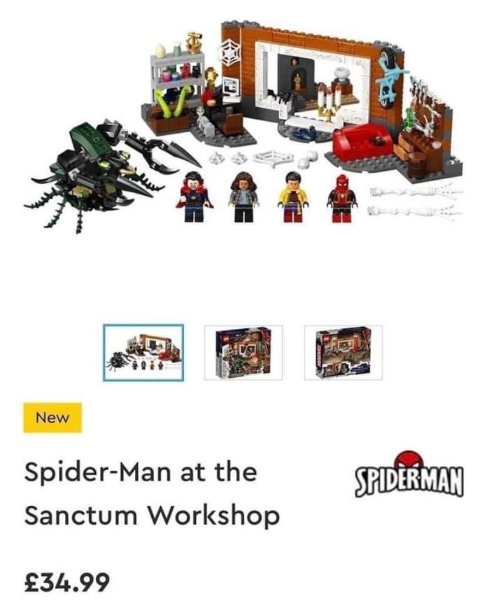 LEGO, Spider-Man, No way Home