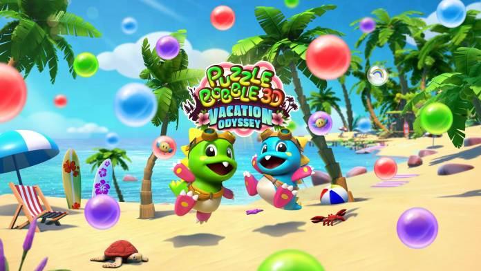 Puzzle Bobble 3D Vacation Odyssey anuncia su llegada a PlayStation 4, PlayStation 5 y PS VR.