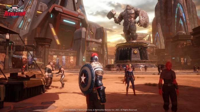 Marvel Future Revolution ya ha abierto su registro para que lo puedas jugar 3